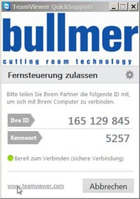 bullmer-QuickSupport-screen