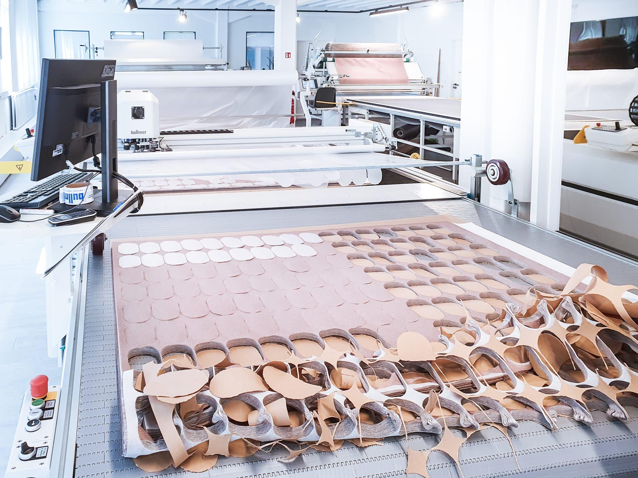 bullmer Wrapping Solutions Atemschutzmasken Zuschnitt